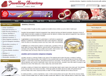 Jewellery web design