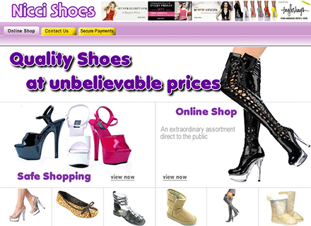 Ladies Shoe Shop